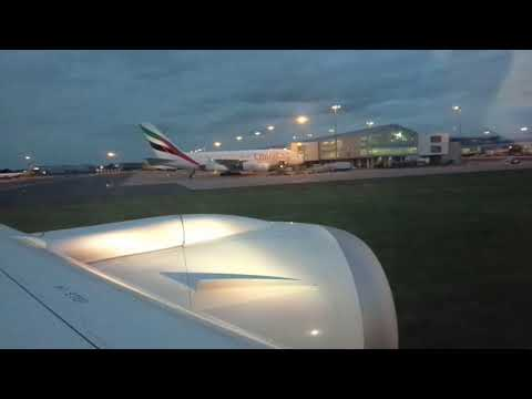 Boing 787-8 Dreamliner Birmingham-Amritsar AI114 Takeoff from Birmingham International Airport