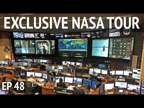 Private Tour of NASA Johnson Space Center & ISS Mock-up | EP 48 Camper Van Life