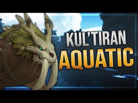 Kul Tiran Druid Aquatic Form   Ingame preview   Battle for Azeroth!