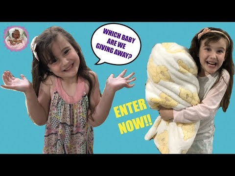 *ENTRIES NOW CLOSED* REBORN BABY GIVEAWAY!