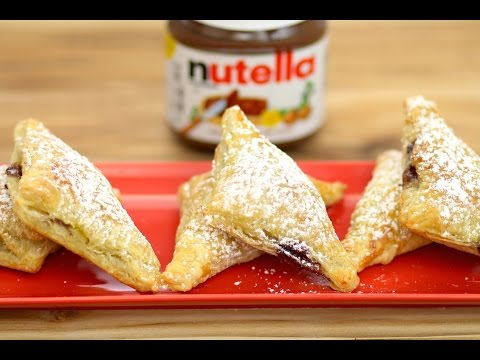 Nutella & Banana Puff Pastry Turnovers - Love At First Bite -  Episode 51