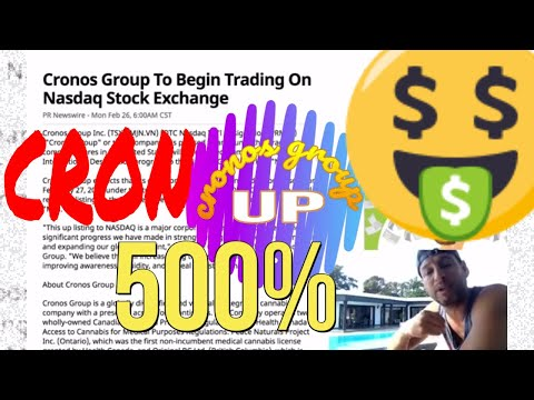 Cronos Group to Begin Trading on the NASDAQ Stock Exchange under the symbol