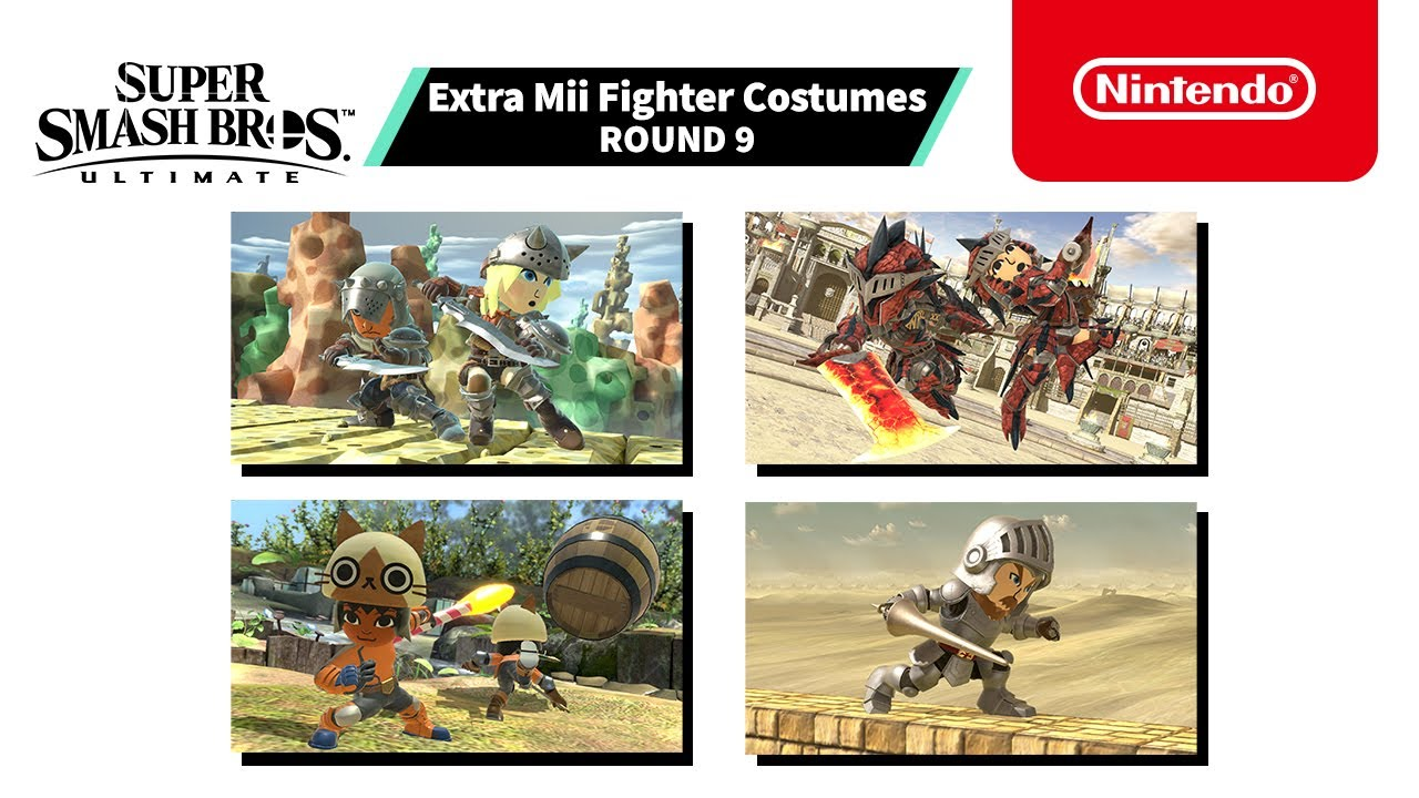 Super Smash Bros. Ultimate - Mii Fighter Costumes #9 - Nintendo Switch