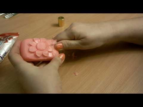 карвинг мыло ромашка 1 soap carving