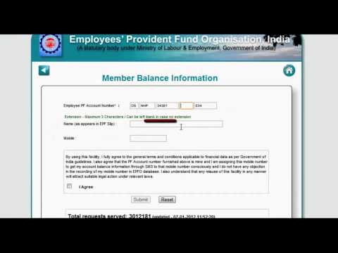 Check EPF Balance Online  720P