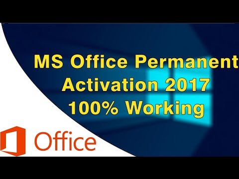 MS Office 2016 Permanent Activation [2017] 100% Working