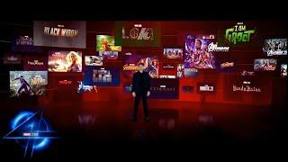 Marvel Studios Phase Four Presentation | Movies \u0026 Tv | Fantastic Four \u0026 More