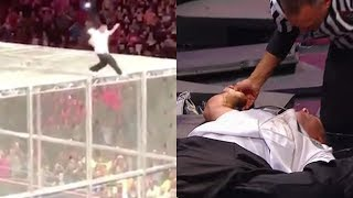 Shane McMahon Broke EVERY Bone During Hell in a Cell Fall