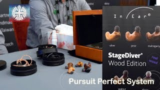 INEar Monitoring StageDiver Headphones & Han Sound Audio Cables Display @ CanJam London 2018