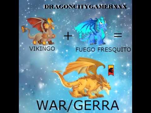 Dragon City (como sacar a los dragones War, Droconos, Puro y Legendarios)