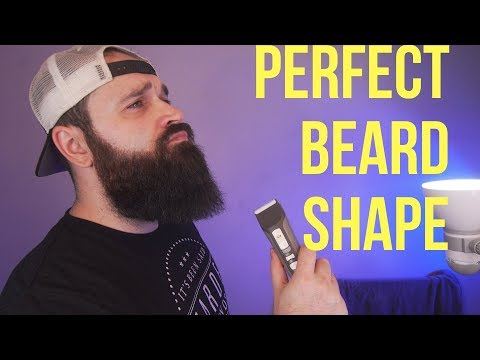How I Trim my Beard to get the PERFECT shape !!!
