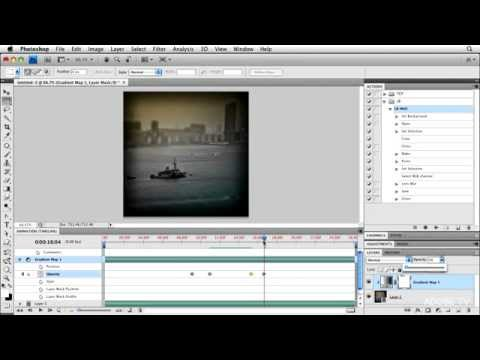Making a Movie in Photoshop CS5 Extended or Photoshop CS6 (Part 2)