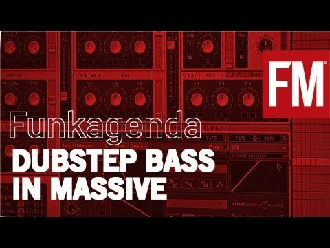 Funkagenda - How to create Dubstep bass sounds in Native Instruments Massive