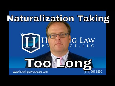 When is my naturalization case taking too long?