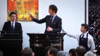 Pursuit Of Quality Drives Sothebys London Contemporary Art Evening Auction To 758 Million