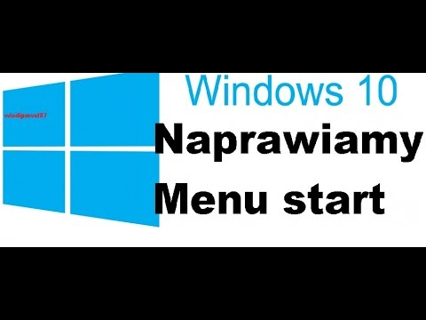[PL] Windows 10 Naprawa (problem) menu start oraz szukaj