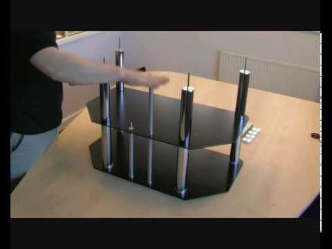 Assembling an S&C LCD Plasma TV Stand - How to Guide