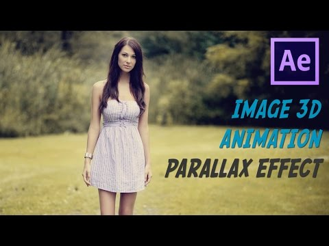 How To Animate A Photo With Parallax Effect Tutorial