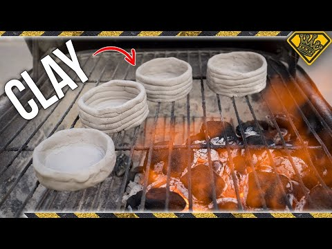 Testing Clay in a BBQ
