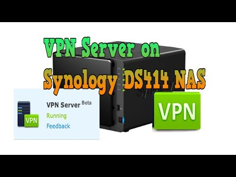 2014 Synology DS414 DSM 5.0 Part 7 VPN Server Install Easy for Mac and iOS