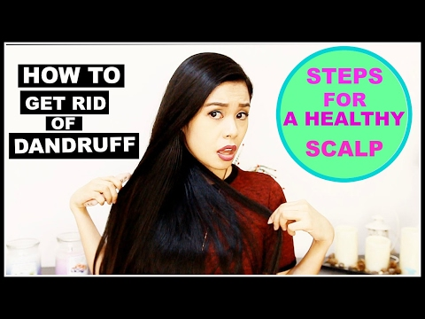 How To Get Rid of Dandruff - Causes and Step By Step Solution To Dandruff-Beautyklove