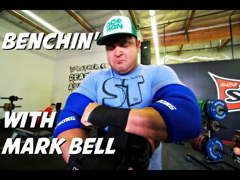 Benching With Mark Bell - 500 plus chains