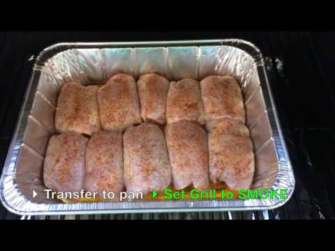 Competition Chicken Thighs on the Traeger Grill