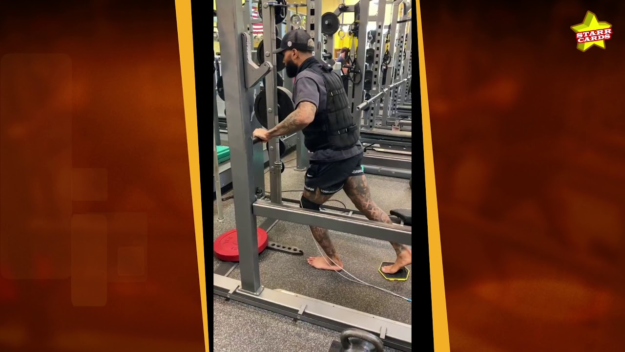 Cleveland Browns wide receiver Odell Beckham Jr. is all in on his rehab program after ACL tear