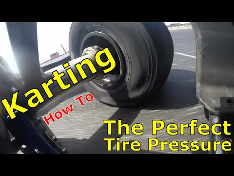 Karting How To: The Perfect Tire Pressure (Basic)