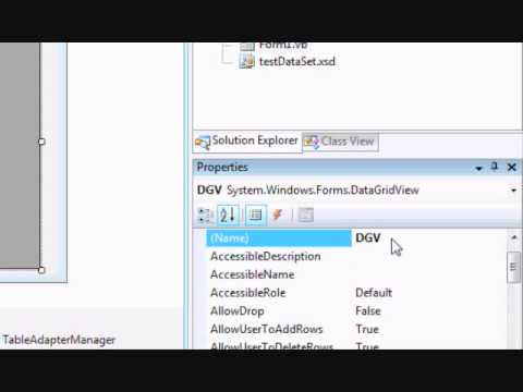 How to use TreeView control with DataGridView to display Master Details table in vb.net