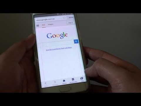 Samsung Galaxy S6 Edge: How to Close All Opened Internet Tabs at Once