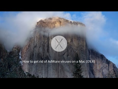 How to get rid of AdWare viruses on a Mac (OS X)