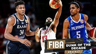 FIBA Best Dunks Of The Decade!