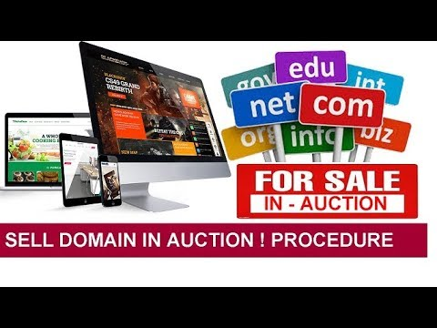 How to Sell Domain Name in Auction to Make Money ! Complete Procedure