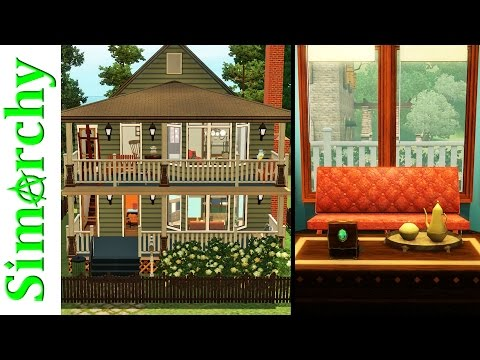 The Sims 3 Speed Build - Cleveland Duplex House - 2 Story Two Unit Remodeled Apartment Home
