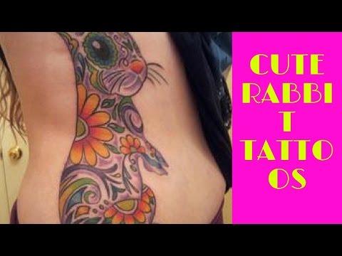 Cute Rabbit Tattoos