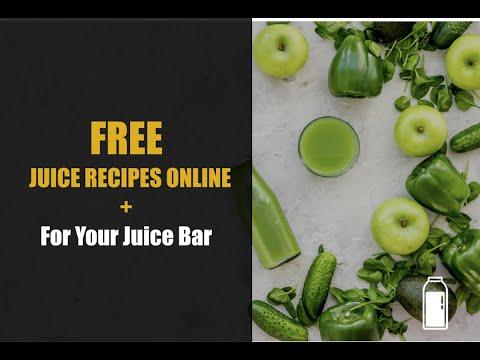 FREE Juice Recipes Online