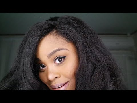 All About my Kinky Straight Lace Frontal!