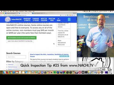Home Inspection Tip #25:  Free, online courses