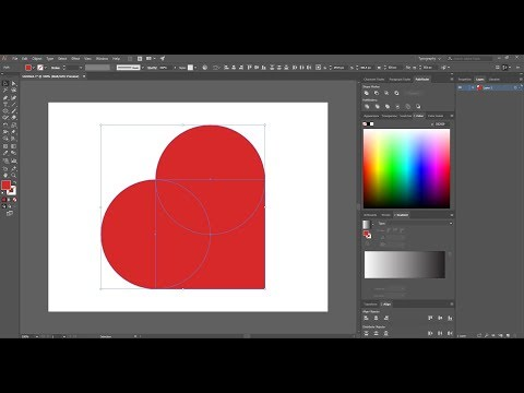 Tutorial - How to draw a perfect heart in Adobe Illustrator CC 2018
