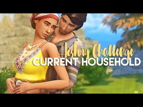 THE SIMS 4: CURRENT HOUSEHOLD | History Challenge - June 2018