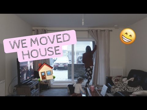 WE MOVED HOUSE