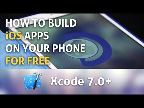 How to build iOS apps on your iPhone/iPad for free with Xcode 7