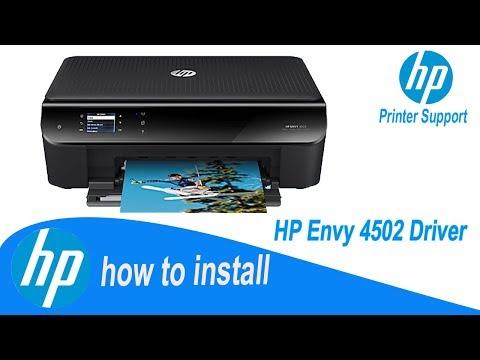 HP Envy 4502 Driver, Full Installation Guide