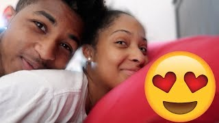 WE DO THIS EVERY MORNING.... 😂(weird couple)