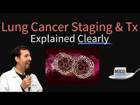 Lung Cancer Staging Explained Clearly by MedCram.com