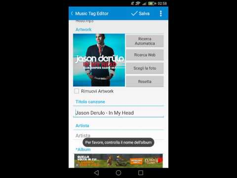 Change photo cover song with STAR MUSIC TAG