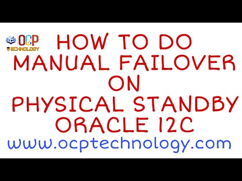 How to Do Manual Failover on Physical Standby | 12c Data-Guard