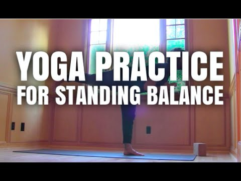 Standing Balance Yoga Practice | Yoga with Patrick Beach