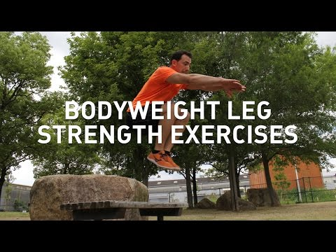 Bodyweight Exercises for Leg Strength - Squats, Lunges, and Plyometric Variations
